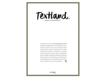 Textland 3 – Wehrhafte Kunst